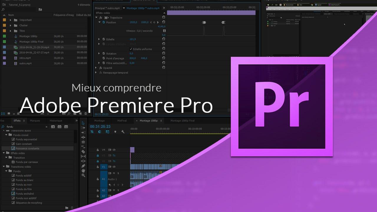 Adobe première pro les fondamentaux